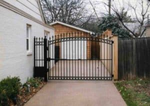 iron entry gates and fencing